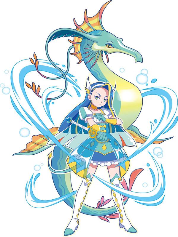 魔法海萤堡-娜希雅