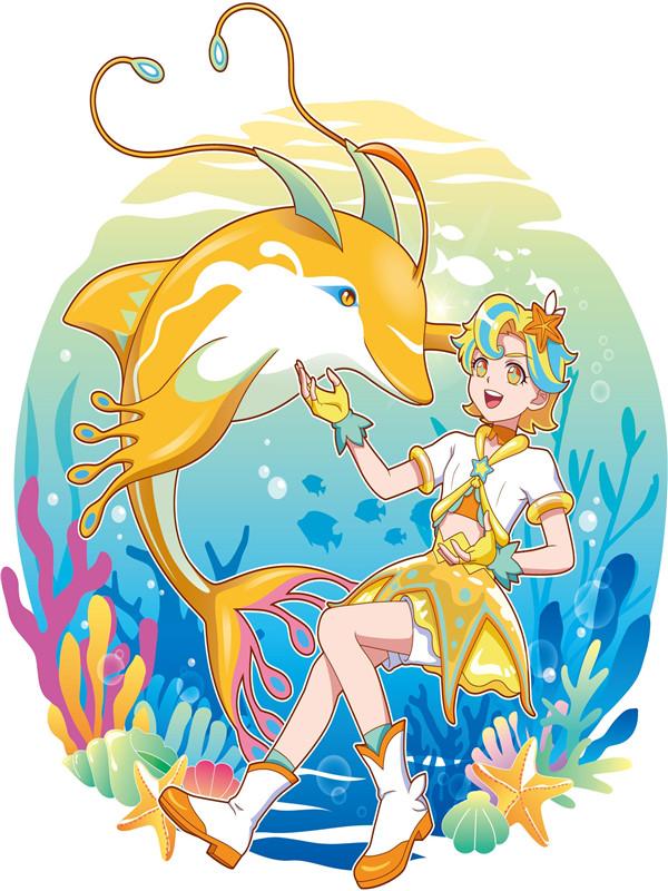 魔法海萤堡-夏凡